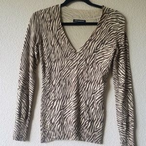 Sweaters - Express Leopard Print Long sleeves Sweater Size; S